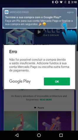 [MP] Pix e Google Play 2