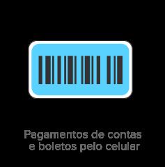 Pagamentos de contas e boletos pelo celular